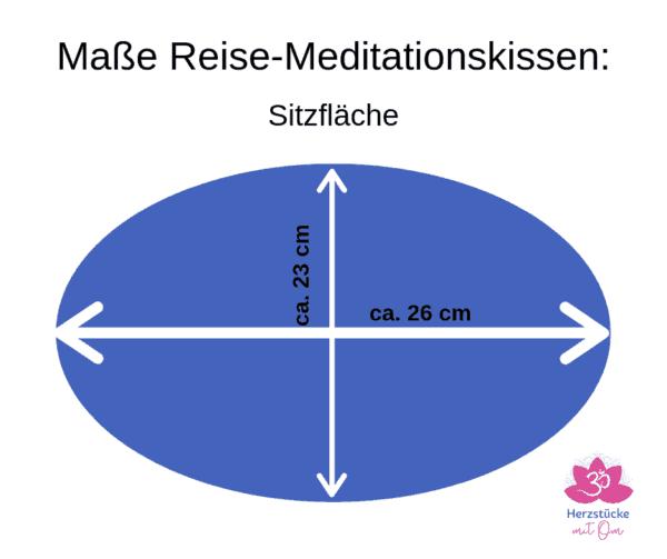 Beispielbild Maße des Sitzkissens