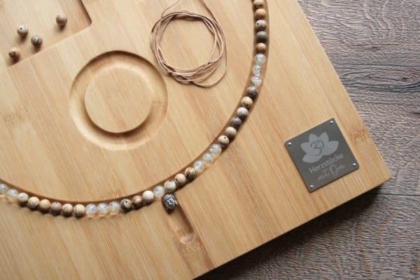 Perlenbrett aus Bambus