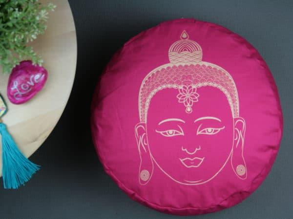 Buddha Yogakissen in Pink