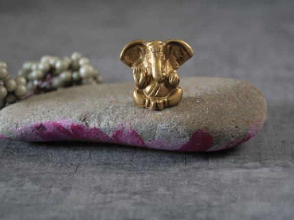 Ganesha aus Messing