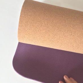 Unterseite Yogamatte