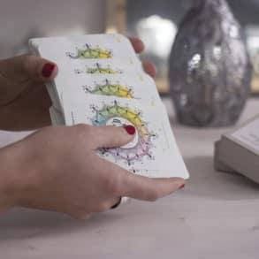 Yogaquartett Spielkarten