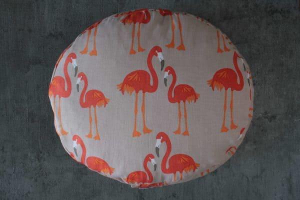 Reise Meditationskissen mit Flamingos