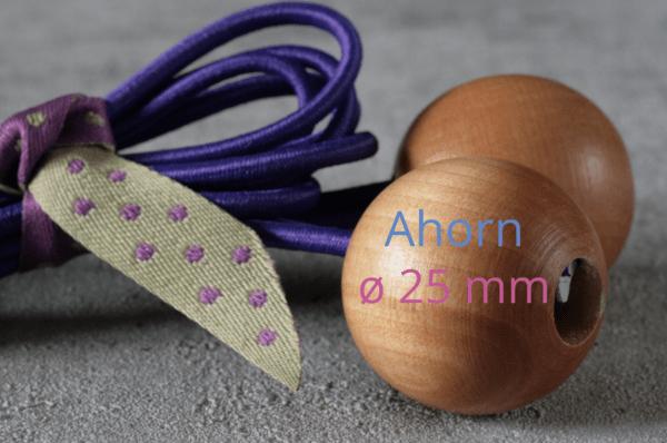 Detailbild Ahornkugel Durchmesser 25mm