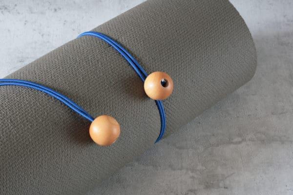 2er-Set Gummi Halteband für die Yogamatte