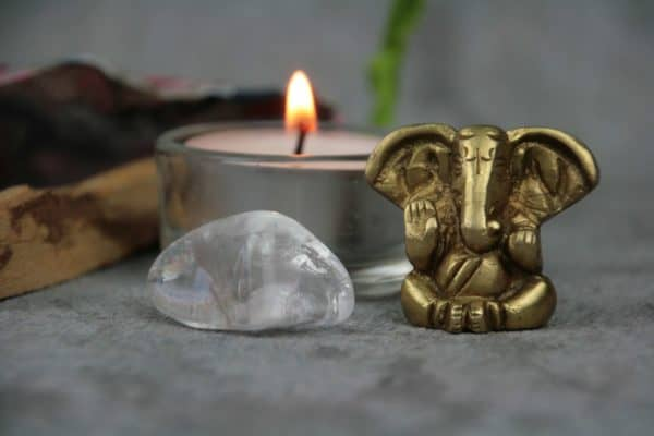 Minialtar mit Elefantengott Ganesha