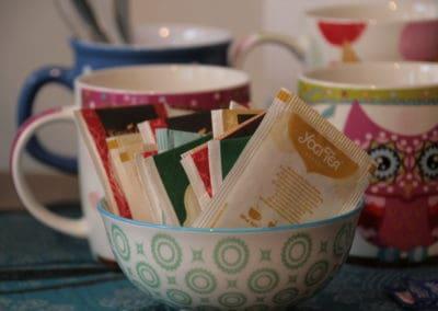 Tee für unsere Teilnehmerinnen